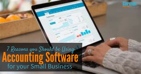 7 Reasons You Should Use Accounting Software For Your