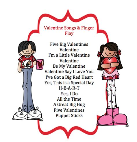 songs amp finger play preschool printables 382 | 11