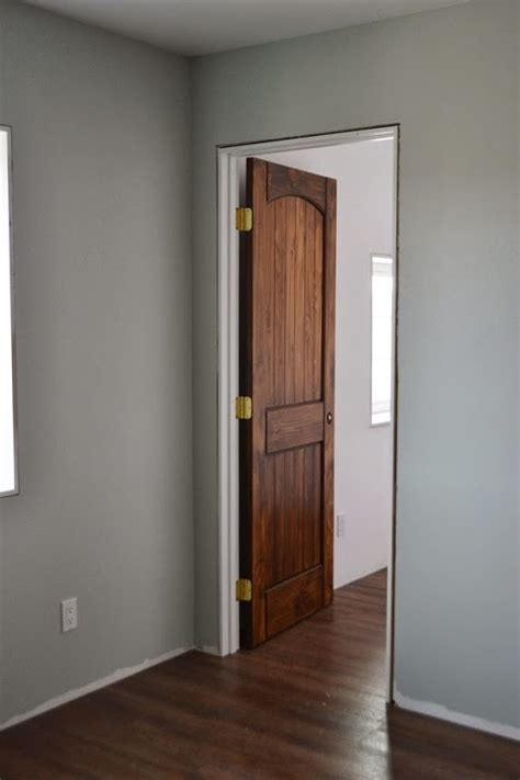 staining pine doors staining interior doors white woodworking projects