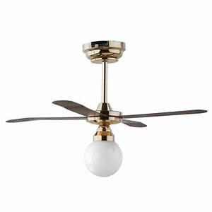 Light led ceiling fan w globe replaceable battery
