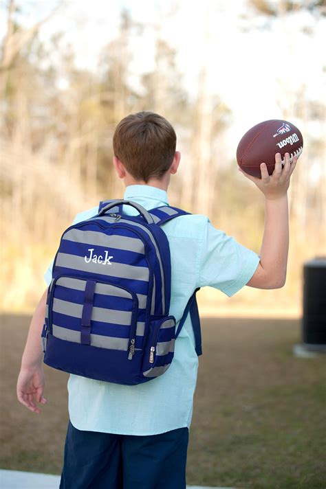 monogram backpack backpacks  boys