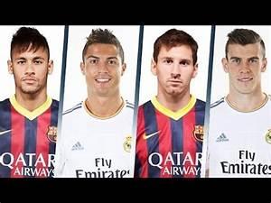 Ronaldo vs Messi vs Bale vs Neymar - YouTube