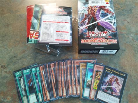 samurai warlords structure deck page 6 product news