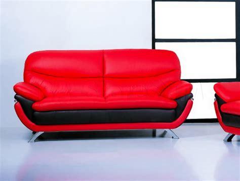 dark red leather sofa jonus sofa black red leather 1 038 00 furniture