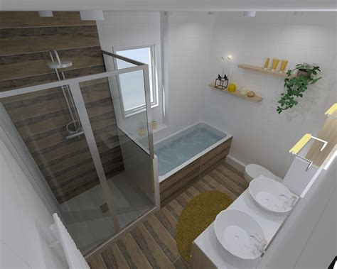 Amenagement Salle De Bain 5m2  Maison Design Apsipcom
