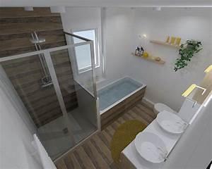 Salle De Bain Rénovation : salle de bain 3d beautiful concevoir sa salle de bain en ~ Nature-et-papiers.com Idées de Décoration