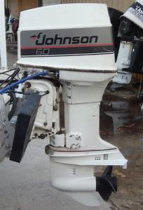 Johnson Outboard Motor 60 Hp