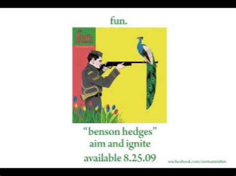 Fun  Benson Hedges [audio] Youtube