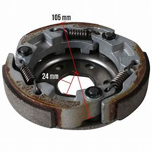 Ncy Racing Clutch For Qmb139 Scooterworks Usa