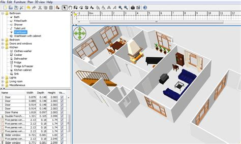 floor plan software sweethomed review