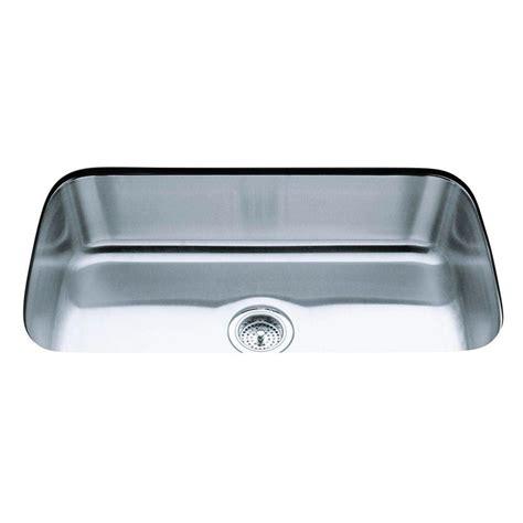 1 basin kitchen sink kohler undertone undercounter undermount stainless steel