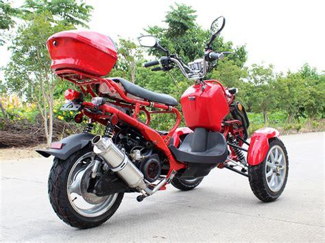 Extreme Motor Sales> Df50tkc 50cc Reverse Trike Scooter 3