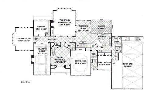 luxury estate floor plans house plans
