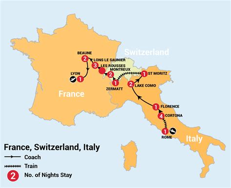 20 Day Backroads Of Switzerland Italy And France