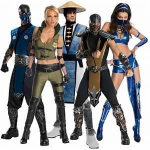 Mortal Kombat Halloween Costumes For Men & Women