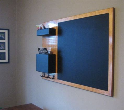 Kitchen Organizer Chalkboard by Stained Mail Organizer Chalkboard Medium Wall Mounted