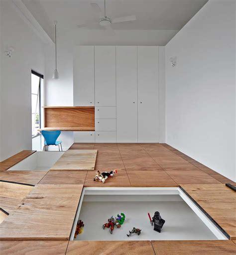astuces rangement chambre rangement des jouets au design ludique pour une chambre d