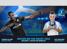 Buy Soccer Aid 2018 match tickets now Soccer Aid ITV