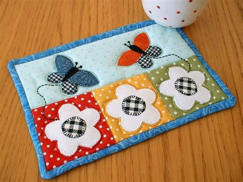 mug rug patterns butterfly quilt designs and patterns baby quilts mug