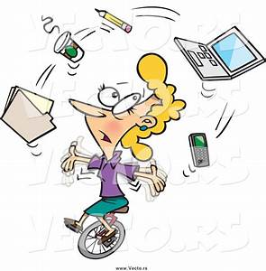 Busy Office Worker Clipart (20+)
