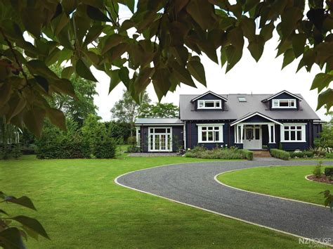 Black And White Bungalow