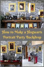 Harry Potter Party Backdrop