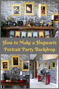 Harry Potter Party Backdrop