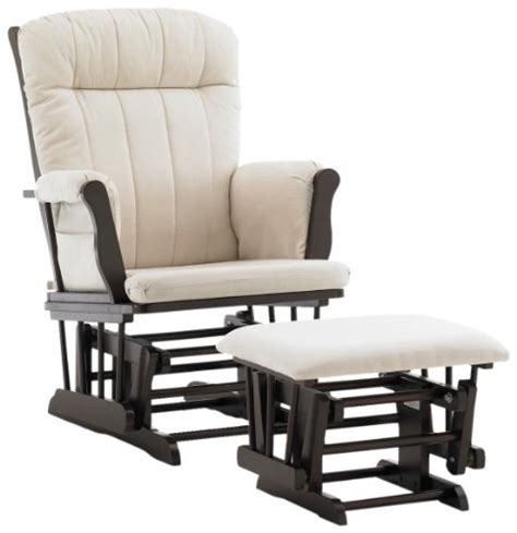 nursery rocker with ottoman glider graco avalon glider with ottoman espresso