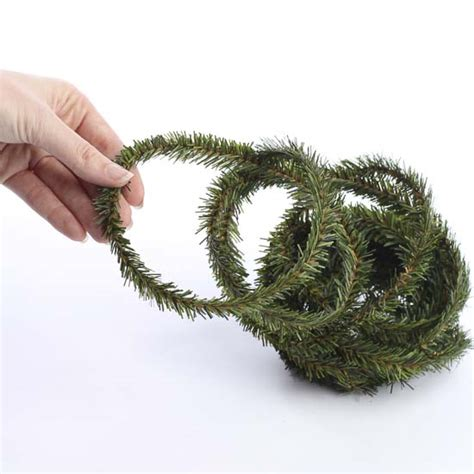 artificial pine wire roping garland christmas garlands