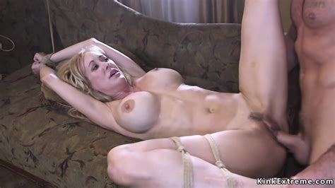 Tied Up Milf Rough Banged By Biggest Fan Eporner