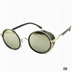 Lunette Soleil Ronde Homme : lunettes ronde pas cher lunettes soleil rondes homme et ~ Nature-et-papiers.com Idées de Décoration