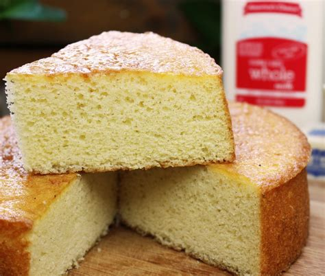 fluffy sponge cake recipe this yellow sponge cake recipe is soooo moist and springy