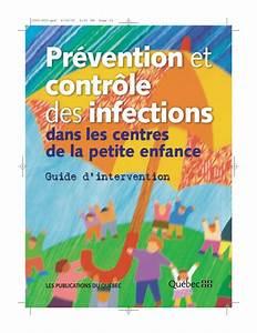 Pr U00e9vention Et Contr U00f4le Des Infections Dans Les