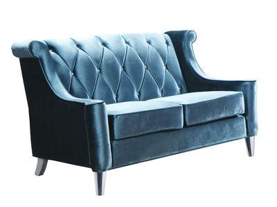 Barrister Loveseat by Barrister Loveseat Blue Velvet Lc8442blue