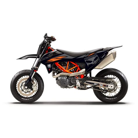 supermoto central ktm 690 smc 2019 effetti racing mx graphics grafiche motocross the
