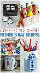 20+ Easy Father's Day Crafts for Kids | The Mom Creative ...