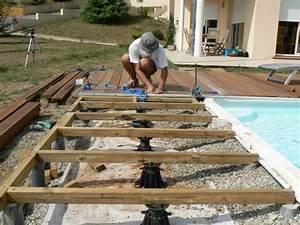 lame terrasse composite castorama gallery of dalle de With comment faire une terrasse en composite