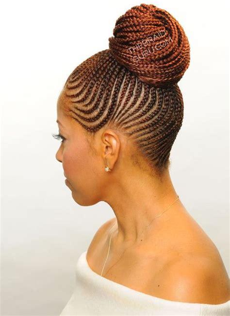 super braided bun 2016 for african american women buns