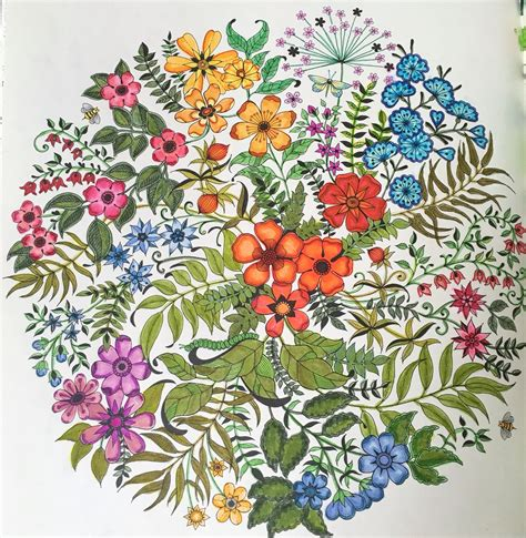 secret garden coloring book secret garden coloring book tom bow markers my finished