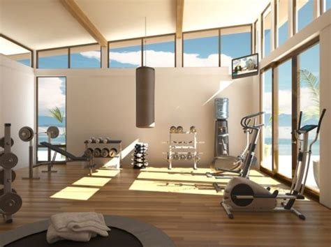 Gym Interior : 70+ Home Gym Ideas And Gym Rooms To Empower Your Workouts
