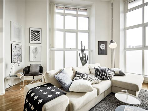 Light Filled Contemporary Living Rooms by 25 Attractive Modern Apartment Interior With Scandinavian