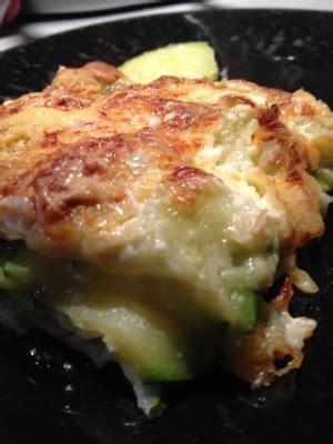 cuisiner les ravioles gratin de ravioles courgettes cuisine