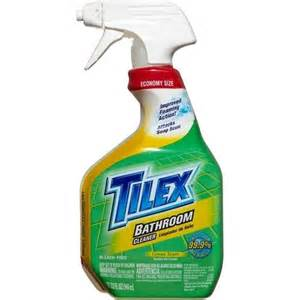tilex bathroom cleaner spray lemon 32 fluid ounces