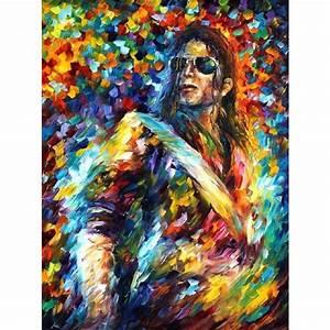 Moderne Kunst Leinwand : hand gemalte palettenmesser lgem lde portrait michael jackson ber hmte moderne kunst auf ~ Sanjose-hotels-ca.com Haus und Dekorationen