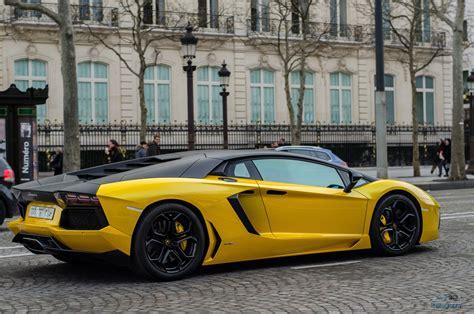 aventador, Cars, Yellow, Jaune, Italian, Lamborghini ...