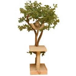 deluxe seedling real cat tree nipandbones