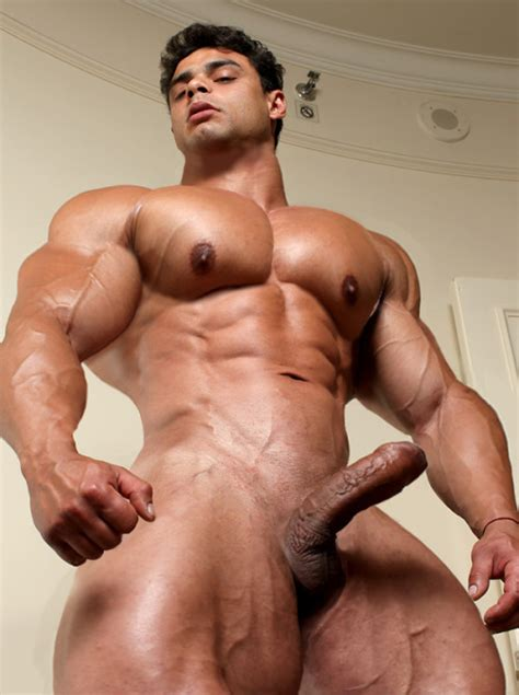gay bodybuilder muscle morph