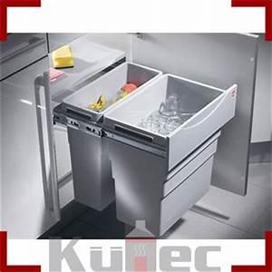 Einbau Mülleimer Küche : einbau abfallsammler 49 l vollauszug 50 cm schrank m lleimer hailo k che front ebay ~ Orissabook.com Haus und Dekorationen