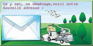 Cartons De Déménagement Gratuit : changement d 39 adresse ~ Melissatoandfro.com Idées de Décoration