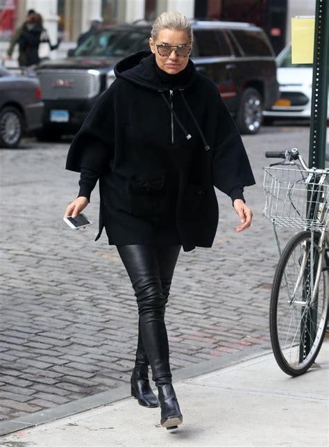 Yolanda Hadid Hoodie - Yolanda Hadid Looks - StyleBistro